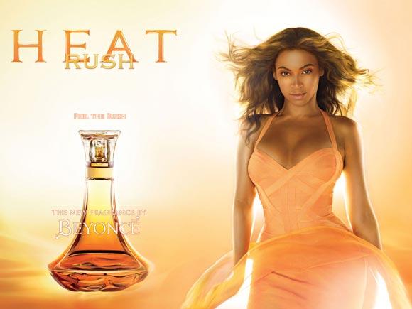 Celebrity Singers Perfumes, Beyoncé - Rush Heat