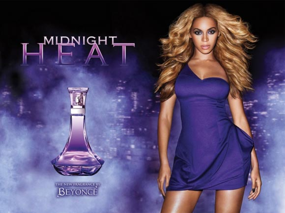 Celebrity Singers Perfumes, Beyoncé - Midnight Heat