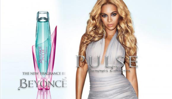 Celebrity Singers Perfumes, Beyoncé - Pulse Summer Edition