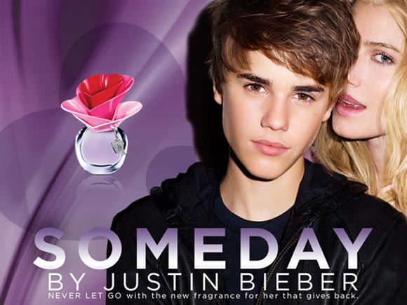 Celebrity Singers Perfumes, Justin Bieber - Someday