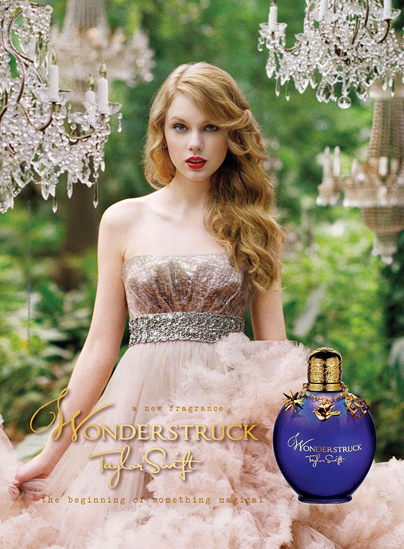 Celebrity Singers Perfumes, Taylor Swift - Wonderstruck