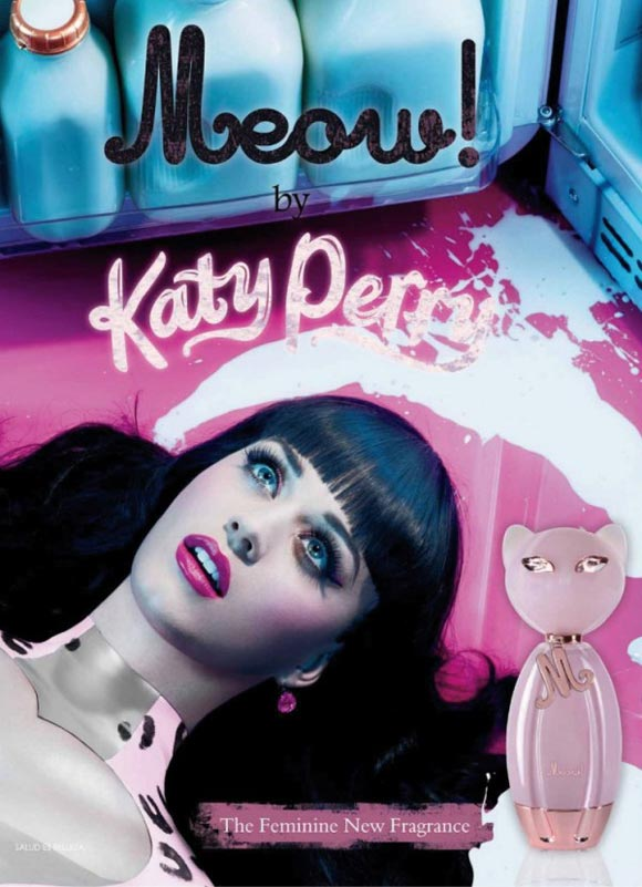Celebrity Singers Perfumes, Katy Perry - Meow!