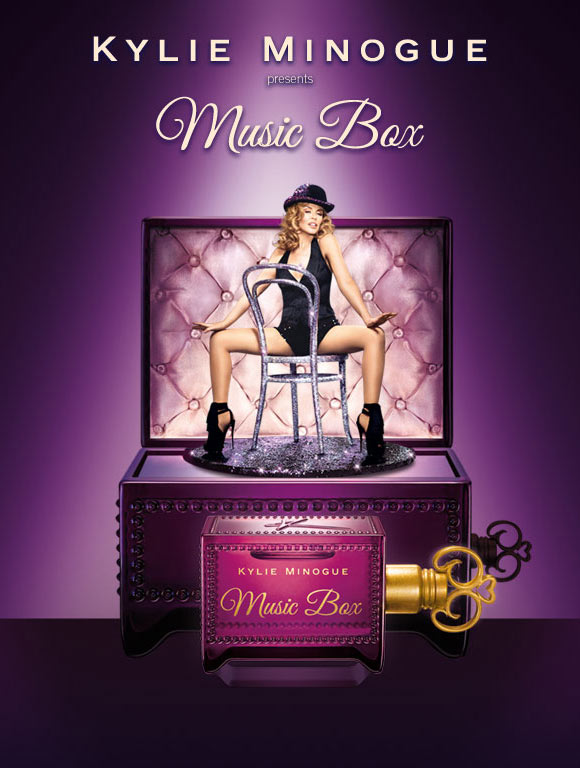 Celebrity Singers Perfumes, Kylie Minogue - Music Box
