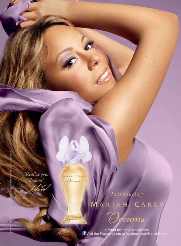 Celebrity Singers Perfumes, Mariah Carey - Dreams