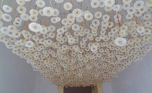 Regine Ramseier - Dandelion Ceiling