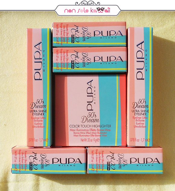 Pupa 50's Dream Packaging