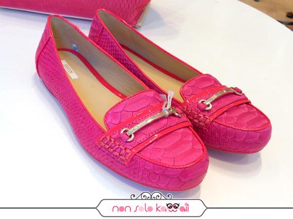 Geox primavera estate 2013, mocassini scarpe fucsia rosa