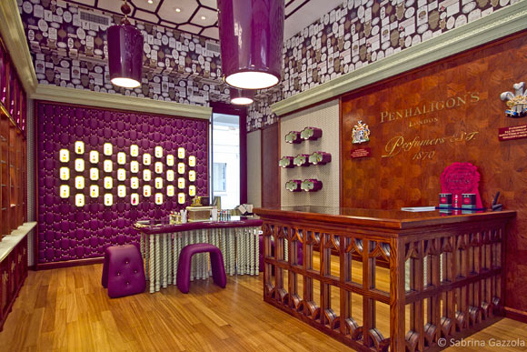 Boutique Penhaligon's a Milano, profumi inglesi