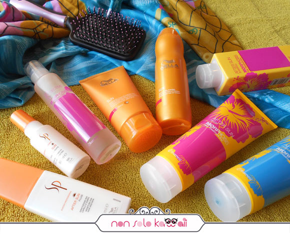 After sun haircare