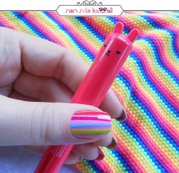 Fluo Stripes by non solo Kawaii for Grazia.it