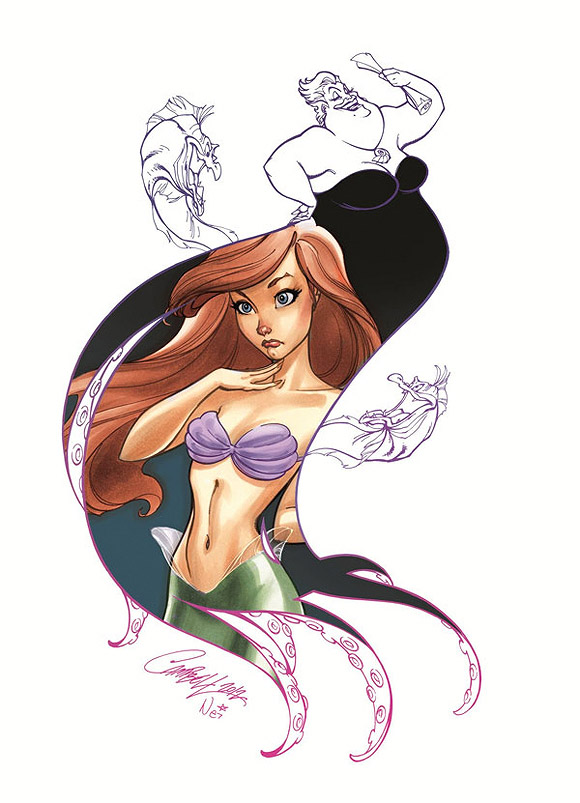 Jeffrey Scott Campbell, Her Voice, La Sirenetta, The Little Mermaid