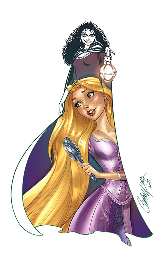 Jeffrey Scott Campbell, Her Hair, Rapunzel, Raperonzolo