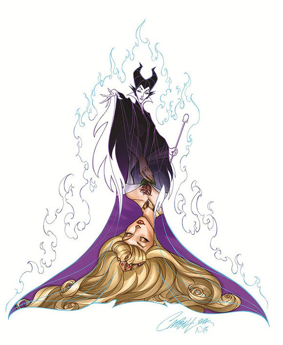 Jeffrey Scott Campbell, Her Sleep, Aurora la Bella Bddormentata, The Sleeping Beauty