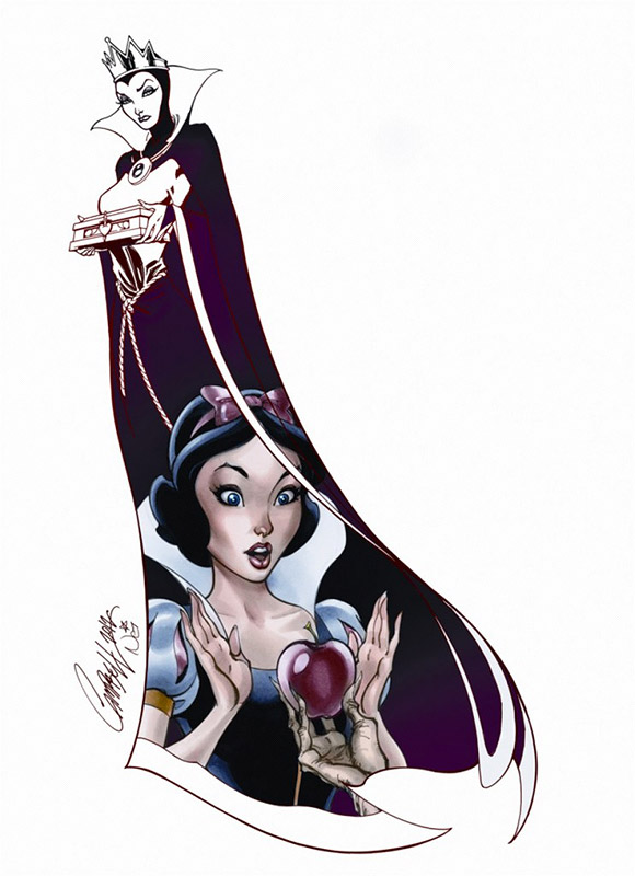 Jeffrey Scott Campbell, Her Apple, Binacaneve, Snow White