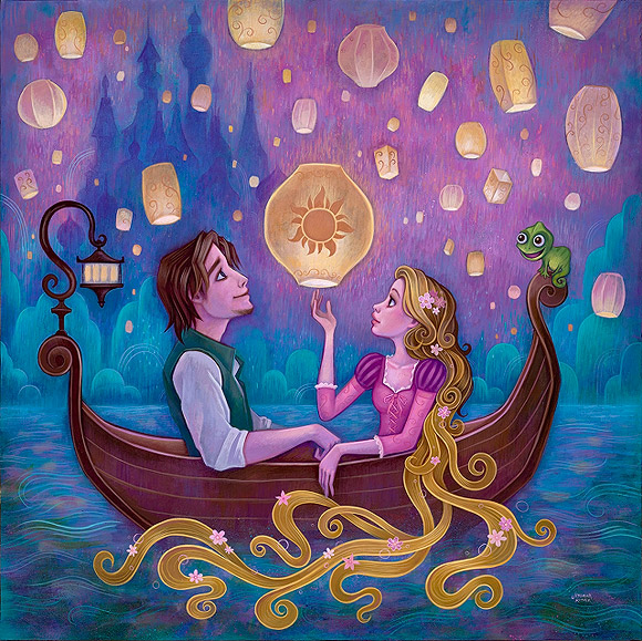 Jeremiah Ketner, Message from Home, Rapunzel, Raperonzolo