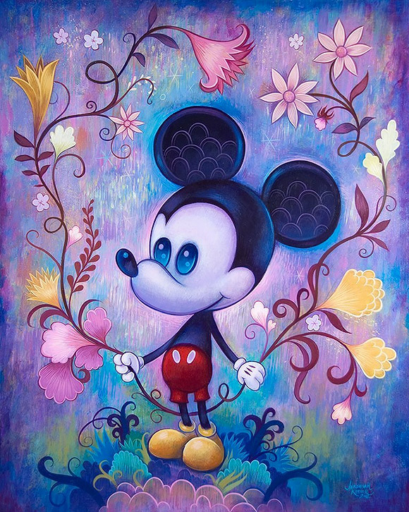 Jeremiah Ketner, Dreaming of Happiness, Topolino, Mickey Mouse