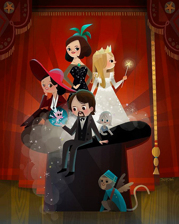 Joey Chou, Oz The Great and The Powerful, Il Mago di Oz