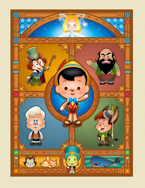 Jerrod Maruyama, Pinocchio