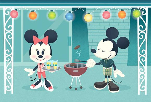 Jerrod Maruyama, Minnie e Topolino Moderni, Mickey Mouse Modern Mouse