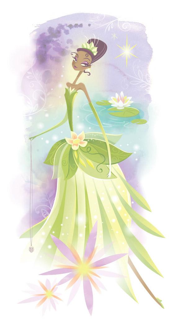 Jeff Granito, Blooms of the Bayou, Tiana, la Principessa e il Ranocchio, the Princess and the Frog