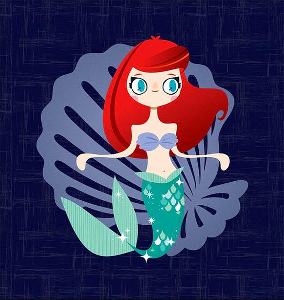 Michelle Romo, Ariel, la Sirenetta, the Little Mermaid