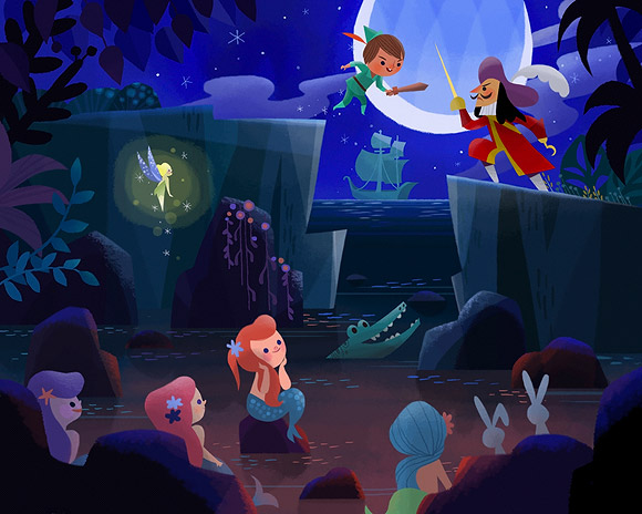 Joey Chou, Peter Pan e le Sirene, Peter Pan and the Mermaids