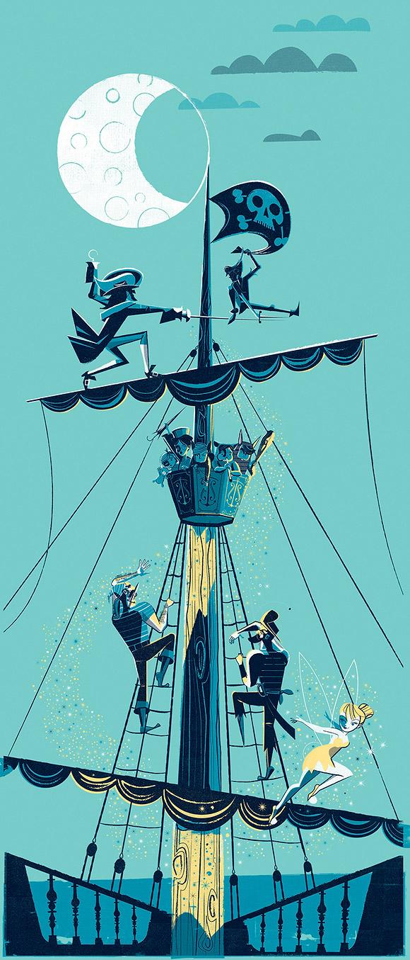 Scotty Reifsnyder, Peter Pan Night Duel, Duello Notturno