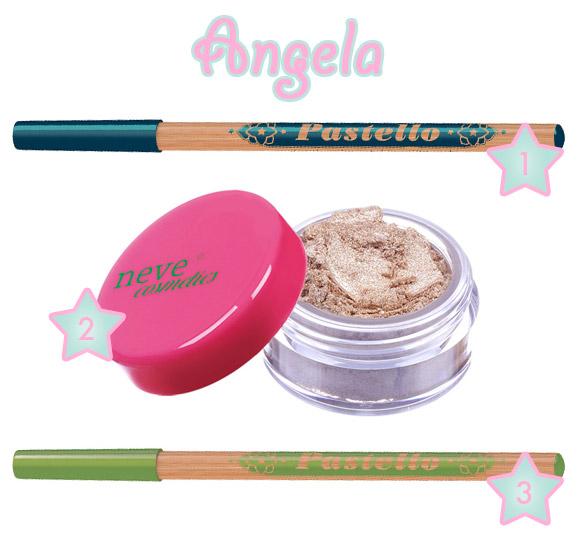 Angela's Podium - Neve Cosmetics - Immaginaria Makeup Collection