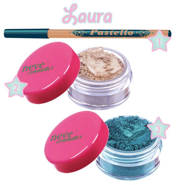 Laura's Podium - Neve Cosmetics - Immaginaria Makeup Collection