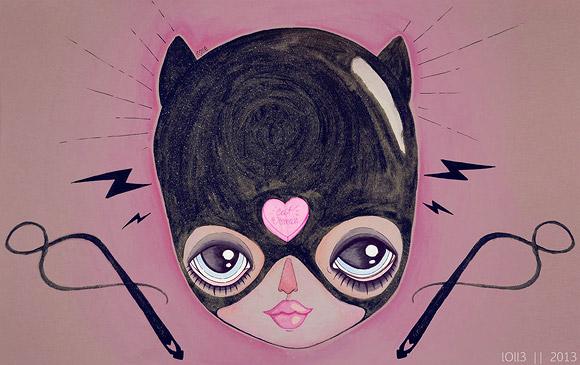 l0ll3, Catwoman