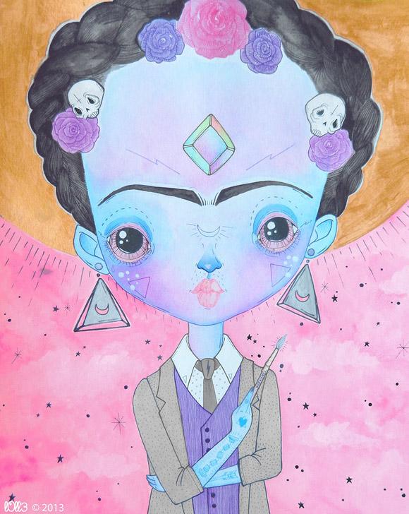 l0ll3, Frida Kahlo