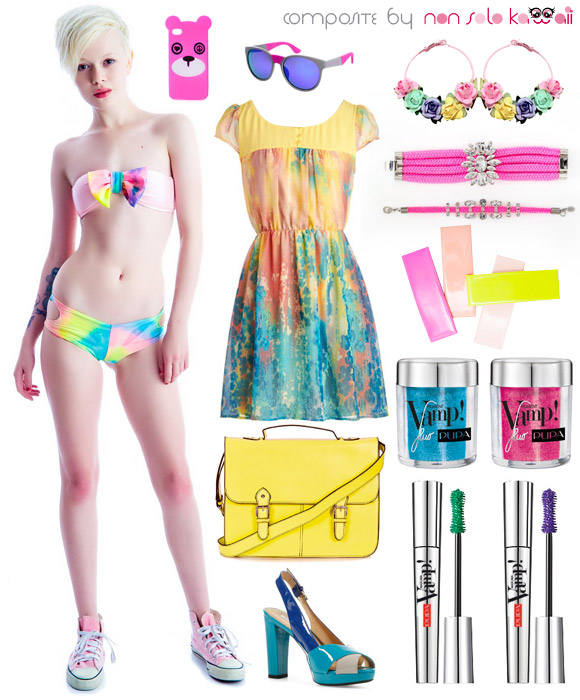 non solo Kawaii - Kawaii Look: Fluo Summer