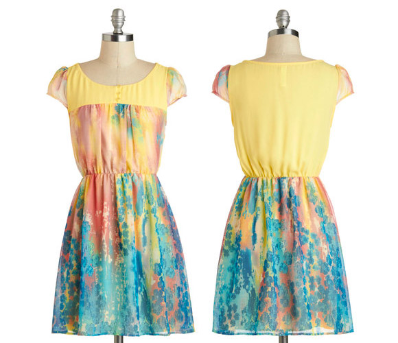 ModCloth - Printmaking an Impression Dress