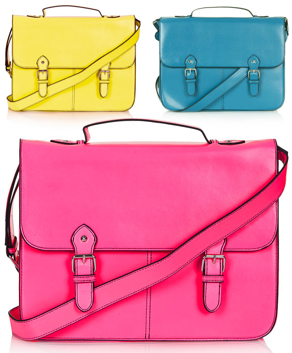 Top Shop - Large Edge Paint Satchel