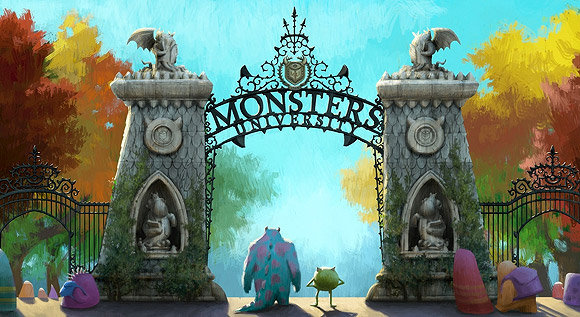 Disney Pixar - Monsters University