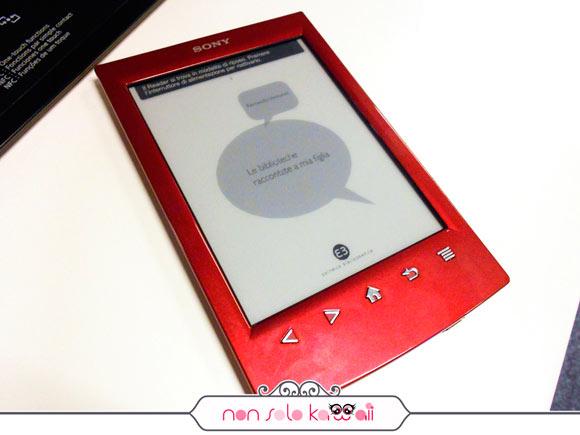 Sony Reader PRS-T2 ereader #onedayinsony