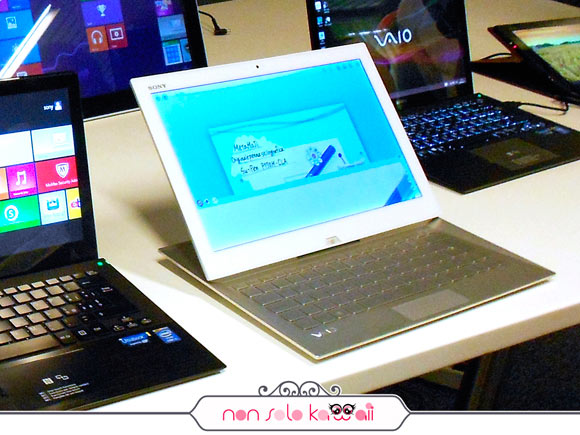 Sony VAIO Duo 13 ibrido tablet-laptop #onedayinsony