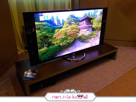 Sony Bravia X9 4K televisore tv gigante #onedayinsony