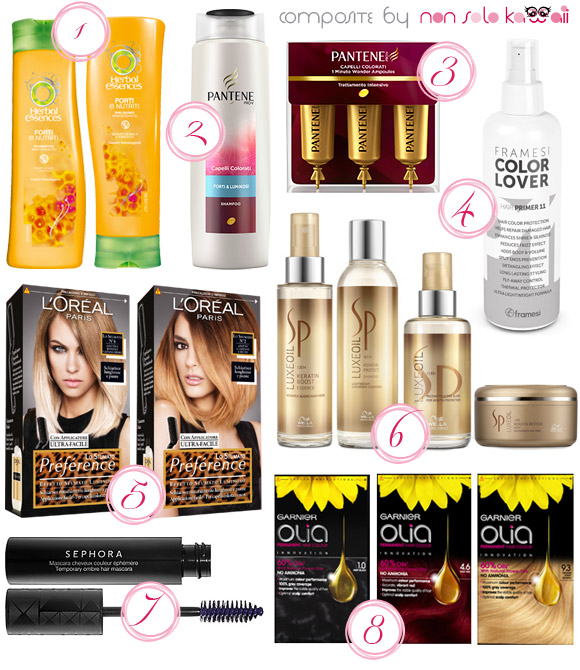 non solo Kawaii - Summer 2013 Best of Hair Care and Skin Care - Capelli Forti e Colorati / Healthy Dyed Hair