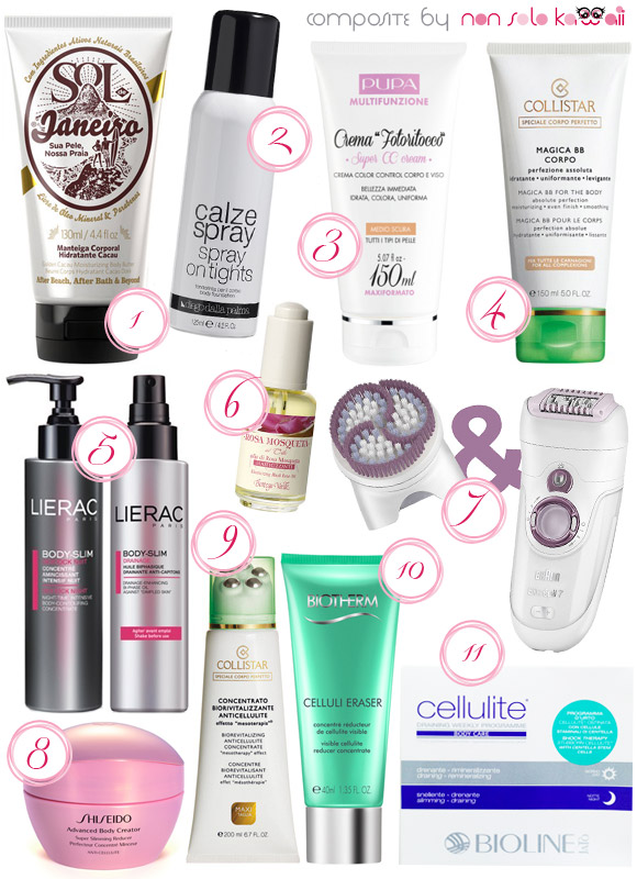 non solo Kawaii - Summer 2013 Best of Hair Care and Skin Care - Gambe Perfette / Perfect Legs