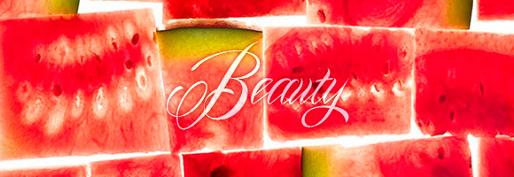 non solo Kawaii - Focus on: Watermelon Anguria Cocomero and Beauty prodotti cosmetici