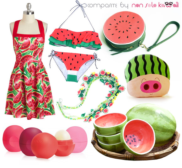 non solo Kawaii - Focus on: Watermelon Anguria Cocomero