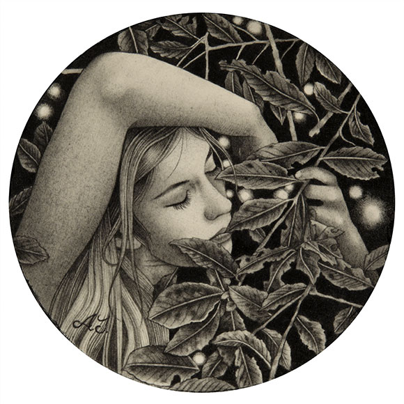 Alessia Iannetti, Mary Among the Leaves