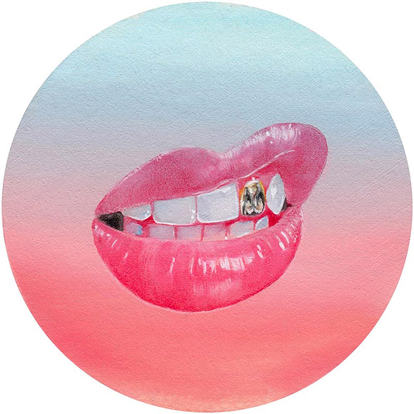 Tasha Kusama, Lips with Swag Teeth