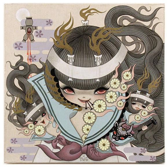 Junko Mizuno, Ushi no Koku Mairi 1, Rising Exhibition