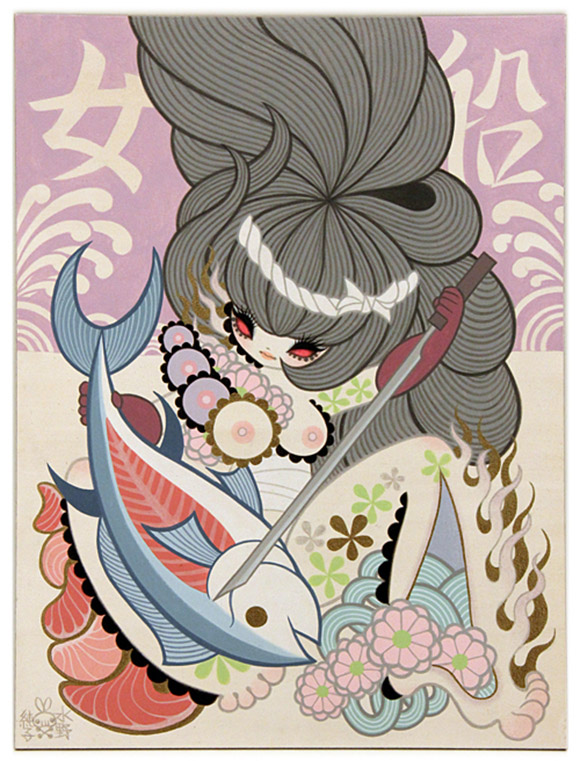 Junko Mizuno, Onna Bune (Women's Fishing Boat) 2, Rising Exhibition
