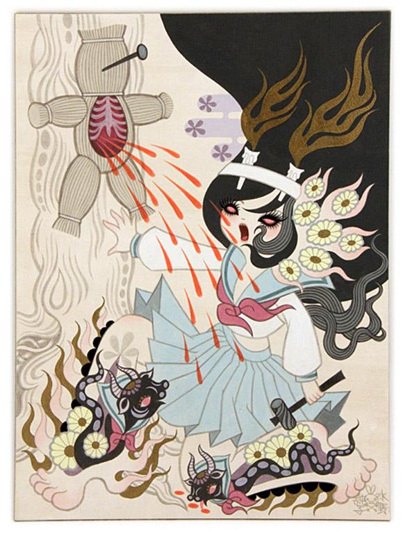 Junko Mizuno, Ushi no Koku Mairi 2, Rising Exhibition