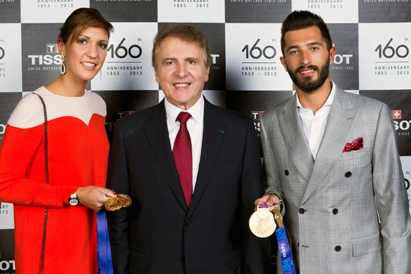 Tissot 160th,Arianna Errigo and Giorgio Avola