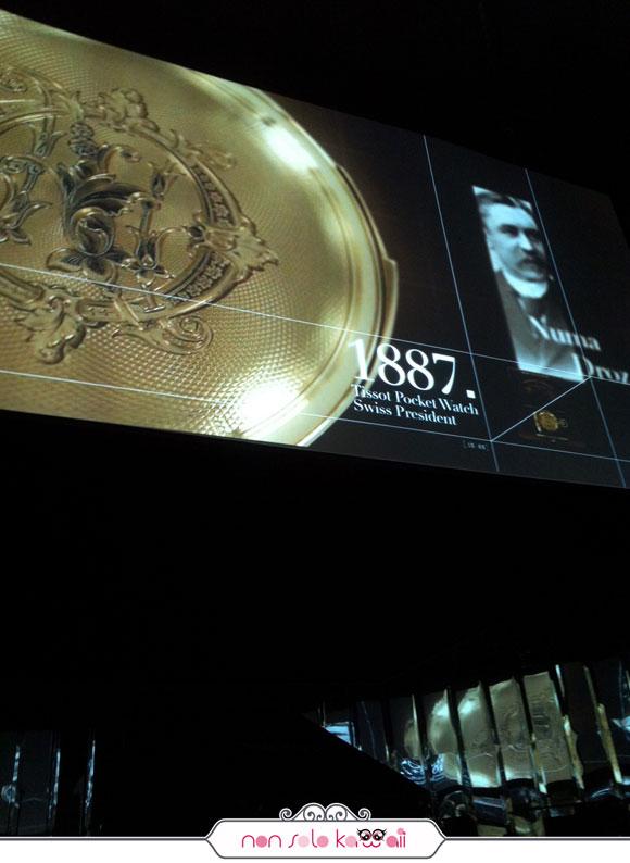 Tissot 160th, evento a milano, teatro vetra