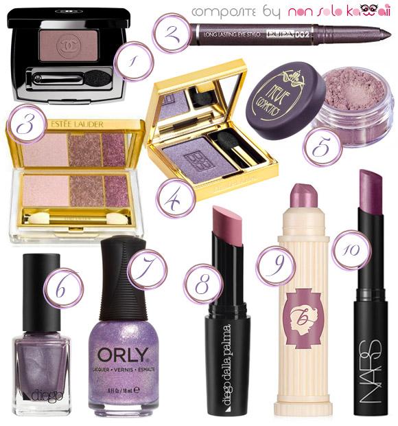 non solo Kawaii - Fall / Winter 2013-14 Beauty Color Trends, Twilight Lavender